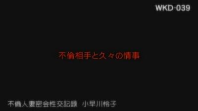 不倫人妻密会性交記録/小早川怜子